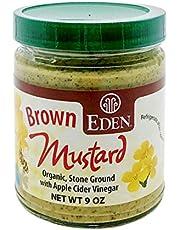 Eden Foods 19247 Organic Brown Mustard Glass