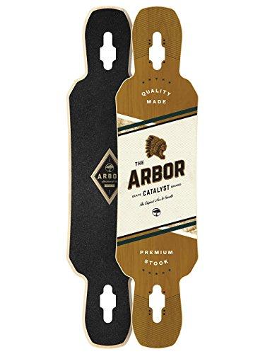 Arbor Catalyst Premium Longboard Deck Skateboards, 40