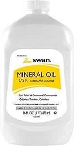 Swan Mineral Oil USP 16 oz.