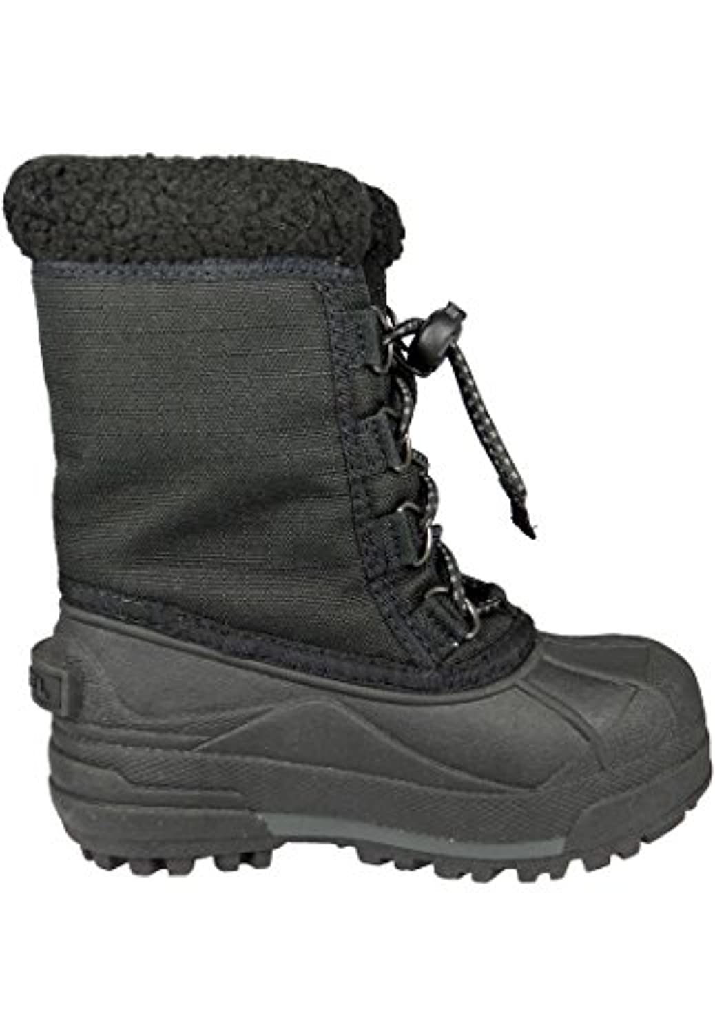Sorel Kids Winter Boots Youth Cumberland II Lined NY1791 Black Black, Sorel Schuhe Kids:25