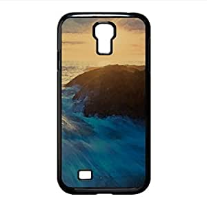 Beach - Blurred Watercolor style Cover Samsung Galaxy S4 I9500 Case (Beach Watercolor style Cover Samsung Galaxy S4 I9500 Case)