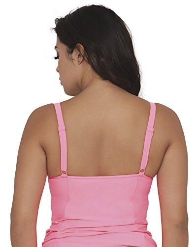 Pink Donna Curvy Balcony Kate Jetty Flamingo Tankini Tankini aqPx47wP