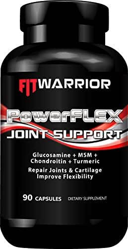 PowerFLEX Joint Support, 90 Capsules, Glucosamine + Chondroitin + MSM + Turmeric Root
