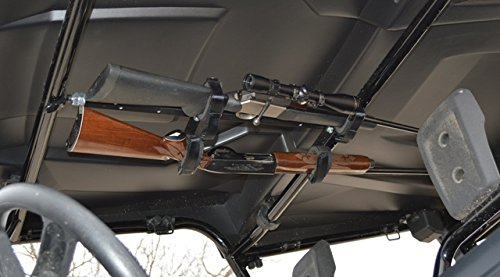 Great Day UTV Gun Rack for Front Seat Honda Pioneer 700 4 Seat by Great Day