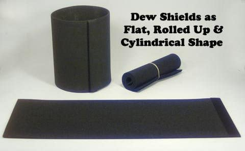 Meade #610 Dew Shield Compatible Flexible Dew Shield for Meade 10in LX200 or LX200GPS and All 10in SCTs