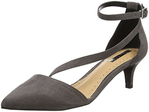 Miss KG Damen Archer Pumps Grau (Grey)