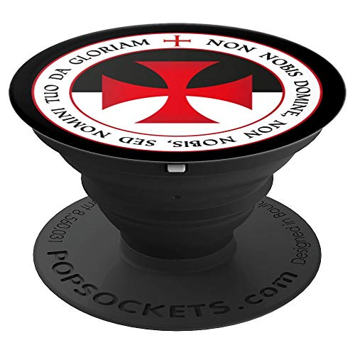 (The Knights Templar Cross Christian Crusader Seal Xmas Gift - PopSockets Grip and Stand for Phones and Tablets)