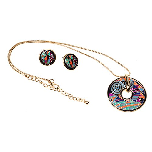 Enameled Coin Jewelry - 5