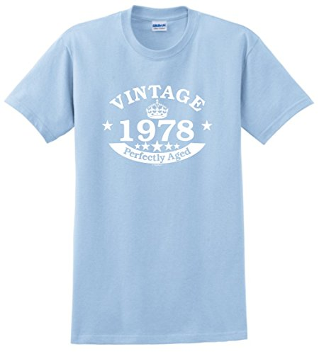 40th Birthday Gift Vintage 1978 Perfect Aged Crown T-Shirt