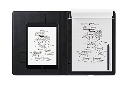 Wacom CDS810G Bamboo Folio Smart pad, Large, Dark Gray