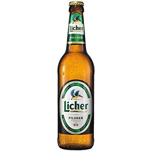 Cerveza Licher Lager - Botella 330 ml - 24 Pack
