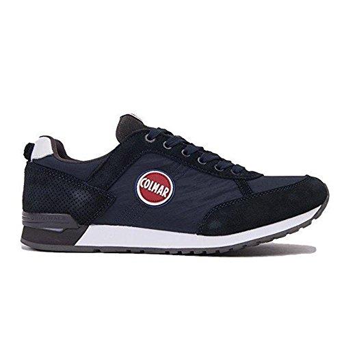 Suede 005 Sneakers Navy Colors Scarpe Colmar Gray Travis Mesh Uomo dk Y1Oqw4Pn