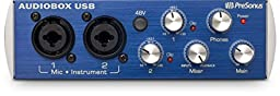 PreSonus AudioBox USB 2x2 Audio Interface - Includes Studio One