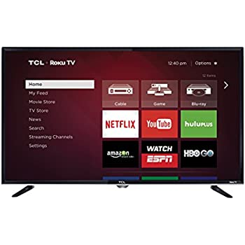 TCL 32S3800 32-Inch 720p Roku Smart LED TV (Certified Refurbished)