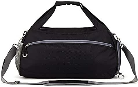 Dry Wet Depart Duffle Bag Sports Gym Bag with Shoes Compartment,Fomatrade Waterproof Gym Sports Bag for Men and Women