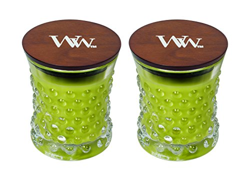 WoodWick Vintage Hobnail Candle Set - Apple Basket