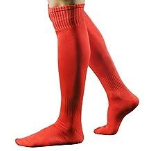 Fashion Story Men Sport Jacquard Ventilate Mesh Plain Long Sock Stocking Hosiery