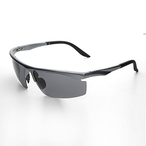 Polarizadas de Sol de Hombres Marco Hombres UV400 E Gafas de YANKAN Moda Metal Conduciendo de x741Hz
