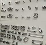 Nut & Bolt - European Standard 4545W T-Slot Aluminum Profiles Extrusion Frame
