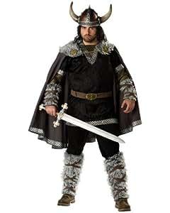 Incharacter Disfraces Tama-o IC5027-2X Elite Mens Plus Guerrero Vikingo Traje 2X