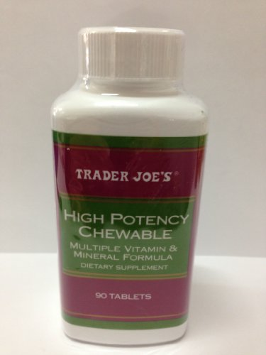 Trader Joe's High Potency Chewable - 90 Tablets