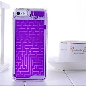 Built-in Labyrinth Design elegant PC Case for iPhone 4/4S , Red