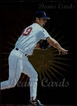1996 Upper Deck # 148 Beat the Odds Tim Wakefield Boston Red Sox (Baseball Card) Dean's Cards 8 - NM/MT Red Sox