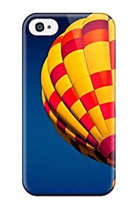 New Hot Air Ballon In The Sky Tpu Case Cover, Anti-scratch ZFcXaHF13LIeXd Phone Case For Iphone 4/4s