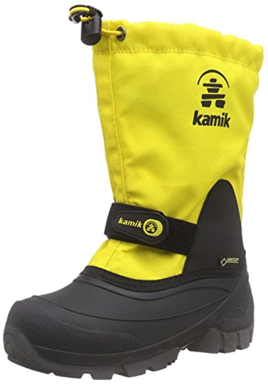 Kamik Unisex Kids' Waterbug5g  Warm Lined Half-Shaft Boots and Ankle Boots , Orange (MAN-MANGO), 25