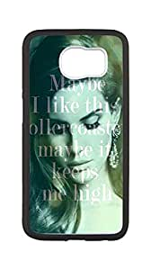 SOKY(TM) Lana Del Rey Case for Samsung Galaxy S6,Lana Del Rey phone Case for Samsung Galaxy S6.