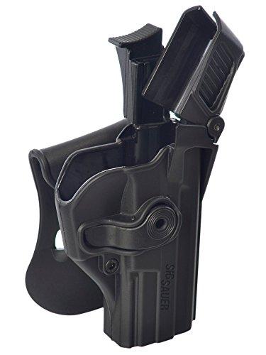 IMI-Defense Z1390 - Level-3 Retention Holster for Sig Sauer SP2022/SP2009/220/226/P227/228/MK 25, P226 Combat, P226 (Tacops)