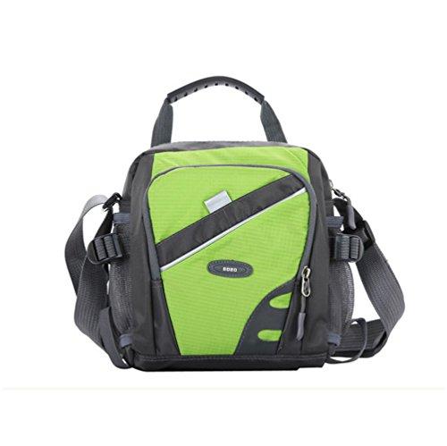 Gaorui - Bolso al hombro para hombre, verde (verde) - BAGXXB-G negro