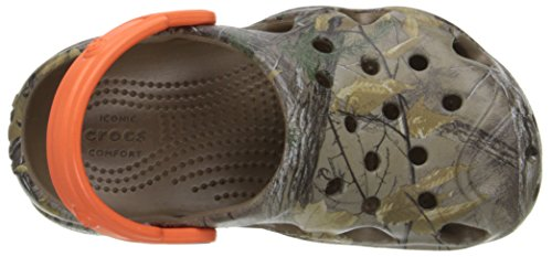 Realtree Xtra tangerine Swiftwater Walnut Zueco Crocs 8w7vqzT