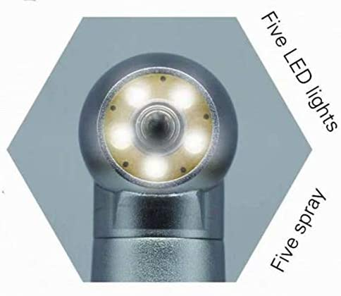 Stainless Steel Turbines with 5 Led Lighting Self Powered E Generator Type 2H