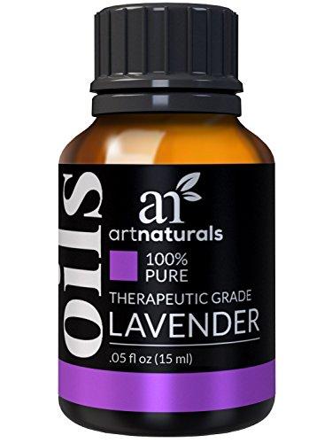 ArtNaturals 100% Pure Lavender Essential Oil - (.5 Fl Oz / 15ml) - Premium Undiluted Therapeutic Grade Natural From Bulgaria - Sleep, Relaxation by ArtNaturals