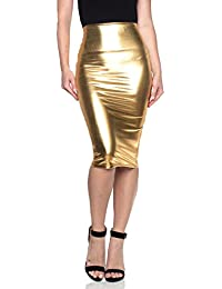 Amazon.com: Golds - Skirts / Clothing: Clothing, Shoes & Jewelry