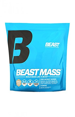 Beast Sports Nutrition, Mass Pro Weight Gainer, Vanilla, 12 Pound