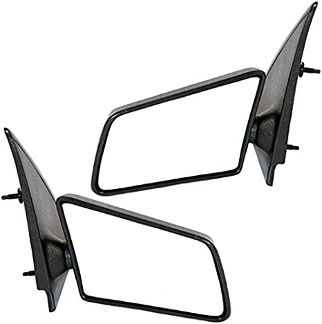 ECCPP Manual Side View Mirrors Left /& Right Pair Set for 1994 1995 1996 1997 1998 Chevy Blazer S10 GMC Jimmy S-15 Sonoma Pickup Truck