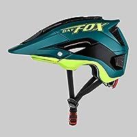 BATFOX Bicycle Ciclismo Mountain /& Road Bicycle Helmets Protecci/ón de Seguridad para Adultos Ajustable y Transpirable johlye Casco de Bicicleta