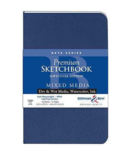 Stillman & Birn Beta Series Softcover Sketchbook, 5.5