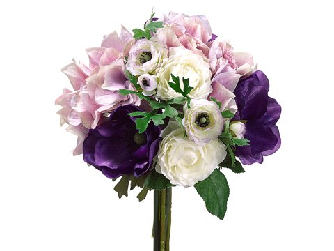 11-HydrangeaRanunculus-Anemone-Bouquet-Purple-Lavender-Pack-of-6