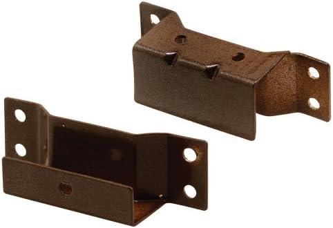 prime-line製品PL 81477/ 16インチソーラー画面ハンガーブラケット、ブロンズ、(Pack of 2)