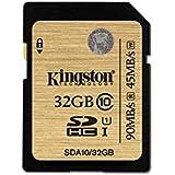 Kingston SDA10/32GB - Tarjeta SD profesional de 32 GB (UHS-I SDHC/SDXC clase 10)