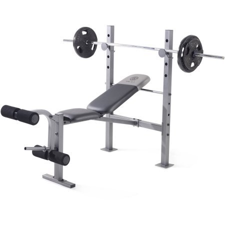 Golds Gym* 110 lbs. Weight Capacity XR 6.1 Multi-position Weight Bench  by