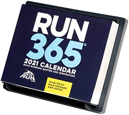 2021 Runner's Daily Desk Calendar by means of Gone for a Run | Daily Running Quotes and Inspiration