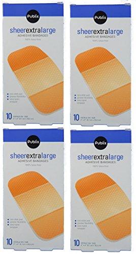 publix-sheer-extra-large-adhesive-bandages-pack-of-4