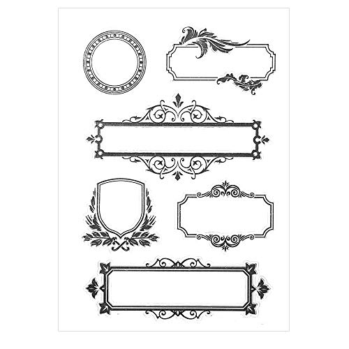 Butteffly Heart Design Silicone Clear Stamps for Card Making Decoration and Scrapbooking Photo Frame Gifts