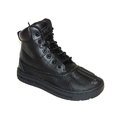 Nike Woodside (GS) ACG Big Kids Boots [415077-001] Black/Black-Black-Black Boys Shoes 415077-001-4.5 (Nike Acg Boots Woodside)
