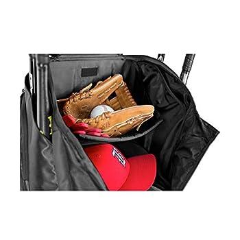 Image of Baseball Equipment EASTON PRO X Bat & Equipment Backpack Bag| Baseball Softball | 2020 | 4 Bat Sleeves | Vented Shoe Pocket | 5 Exterior Pockets | Shelf Organizer | Helmet Strap | 2 Bottle Pockets | Fence Hook