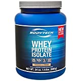 BodyTech Whey Protein Isolate Powder with 25 Grams of Protein per Serving BCAA's Ideal for PostWorkout Muscle Building Growth, Contains Milk Soy Cookies Cream (1.5 Pound) For Sale
